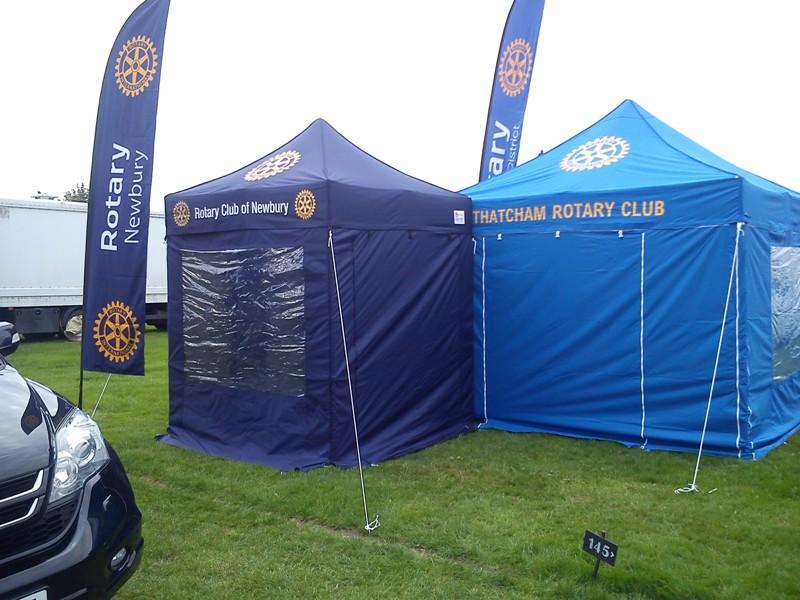 Newbury and Thatcham Rotary Clubs at the Berkshire Show - until next year