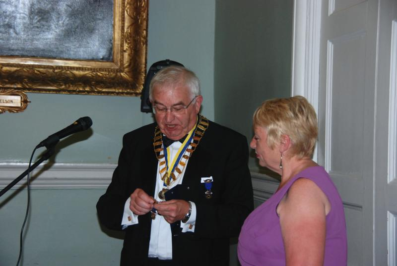 TRINITY GETS TO SILVER - Past Presidents Jewel