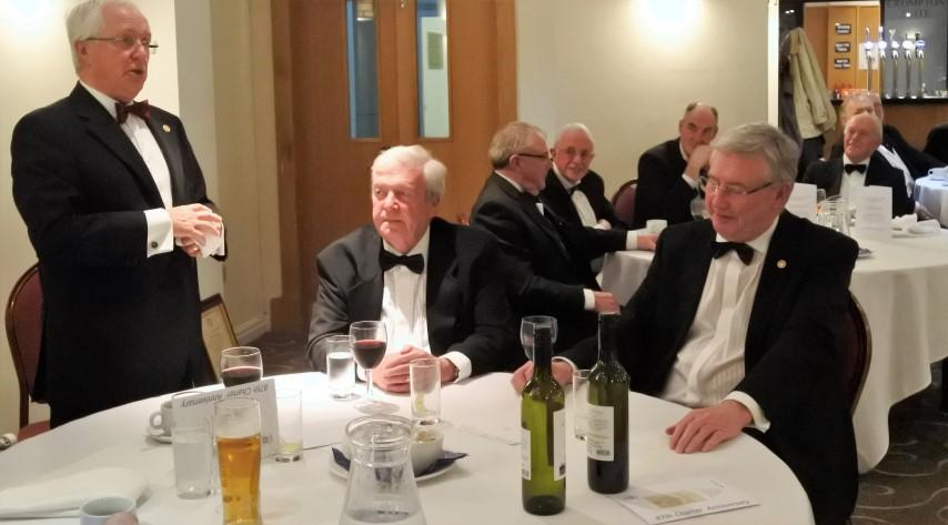 87th Charter Anniversary 2017 - PAQST PRESIDENT COLIN PLATT INTRODUCES HIS GUESTS