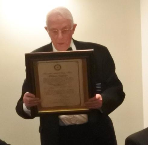 87th Charter Anniversary 2017 - PAST PRESIDENT MICHAEL WILLS READS THE CLUB CHARTER
