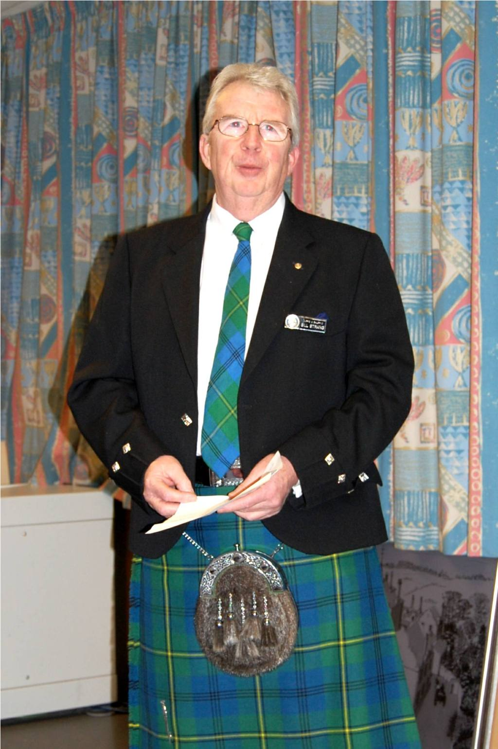 Burns Supper, 23 January 2008 - Vote of Thanks by Founder President Bill Strang