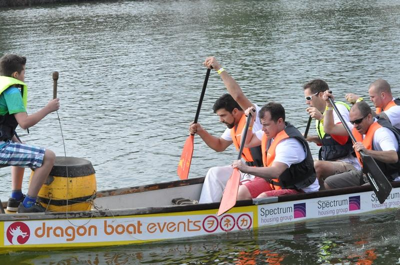 Portsmouth Dragon Boat Race - Whiteley Runners Up -
