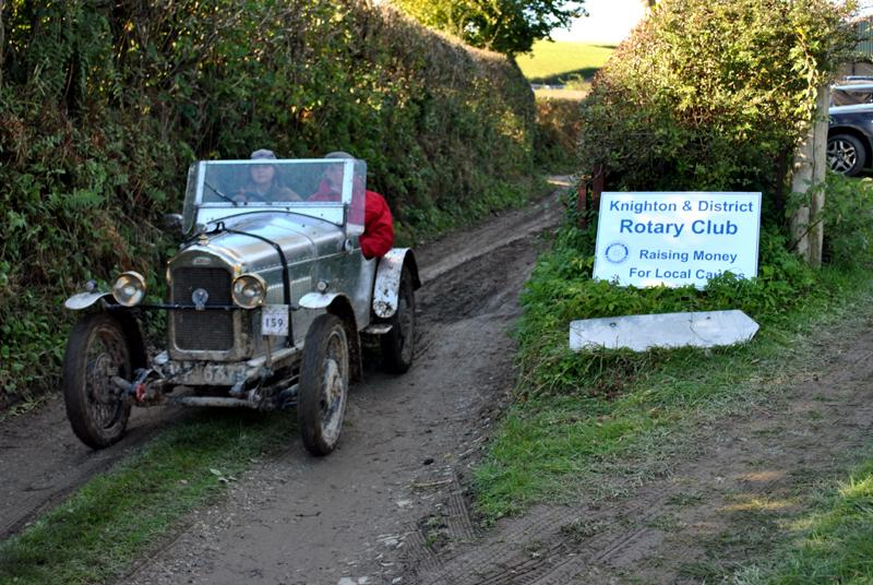 Car Rally parking for the VSCC near Whitton - Going home 2