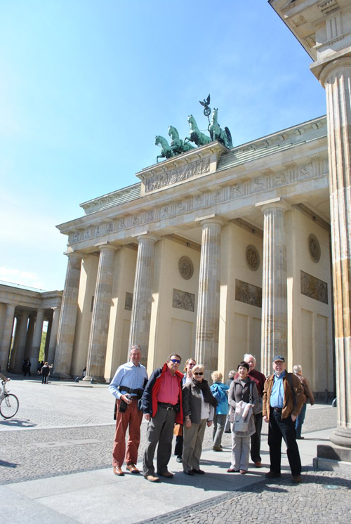 Berlin jaunt April 2012 - Brandenburger Tor.....with David, Ivan, Trixie, Margaret, Dorothy, Adam, Norman