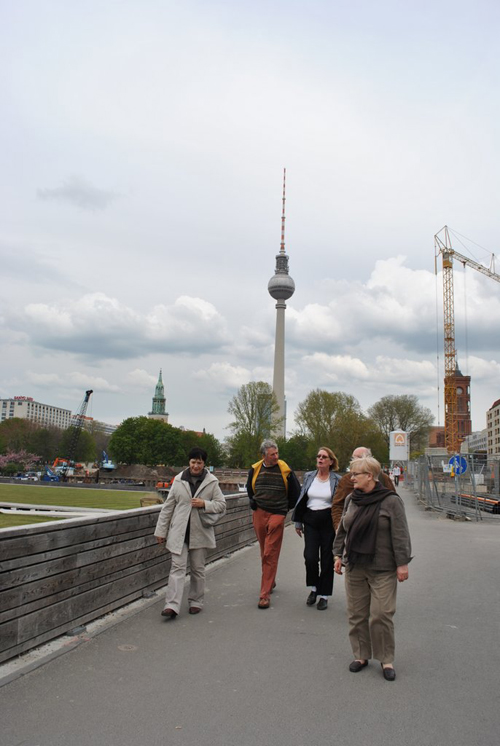 Berlin jaunt April 2012 - Dorothy, David, Trixie, Norman and Margaret