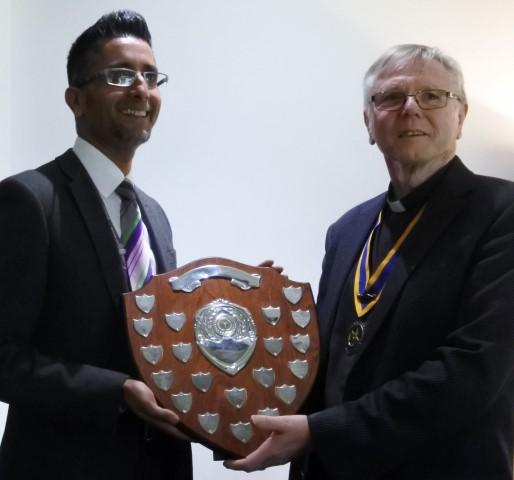 2017 COMMUNITY SERVICE AWARD - PRESIDENT DAVID AND ZERG RAJA stronger community officer