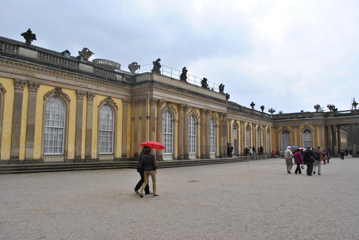 Berlin jaunt April 2012 - The Palace frontage