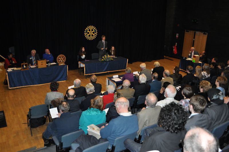 Rotary Youth Speaks, -