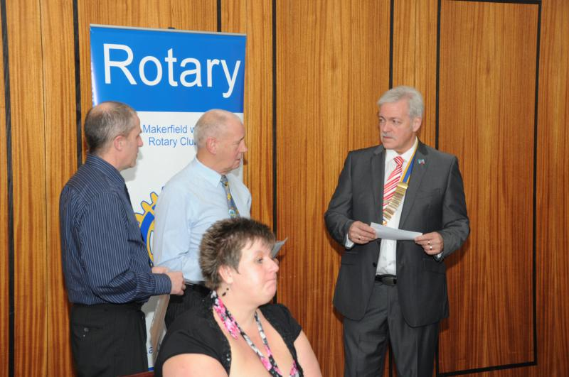 Visit of District Governor Keith Best -