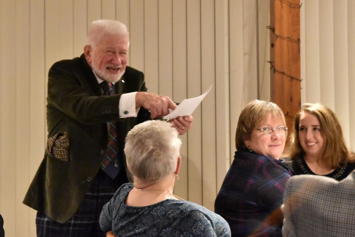 Scots Night January 2019 - Ian Walker recites Charles Murray's It Wasna His Wyte