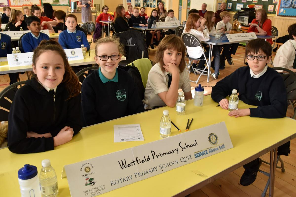 Primary Schools Quiz - February 2019 - Rotary Club of