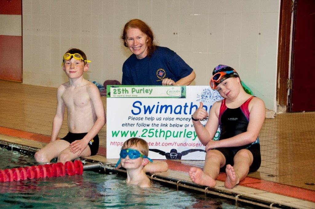 Purley Swimathon 2017 - Pictures - Now that is good Plaque  (Bad dentist joke)
