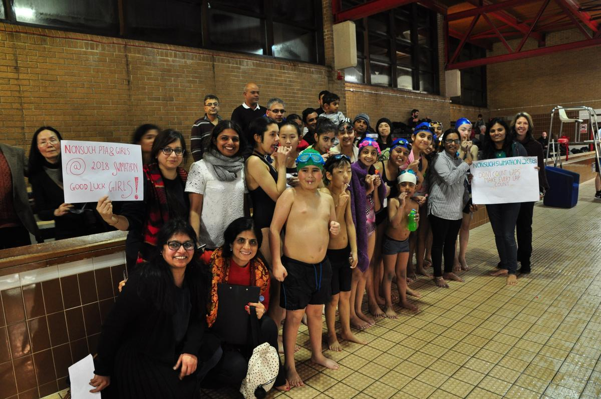 Purley Swimathon 2018 - Pictures - Nonsuch Grammar School Community