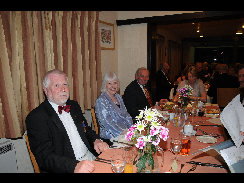 Holsworthy Rotary Club 40th Birthday Dinner - DSC 6651 1