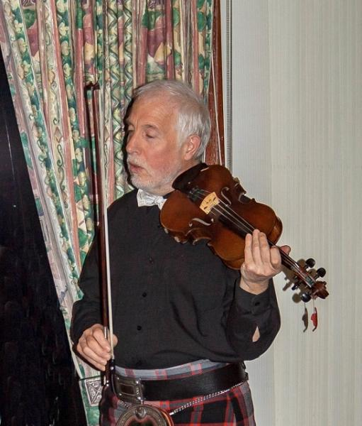 Burns Night at the Rotary - David Gillespie