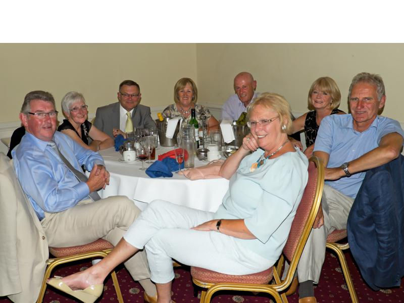 Handover Meeting - David and Jo Landy, Barrie and Linda Rive, Bob and Chris Theakston, John and Viv Bambery