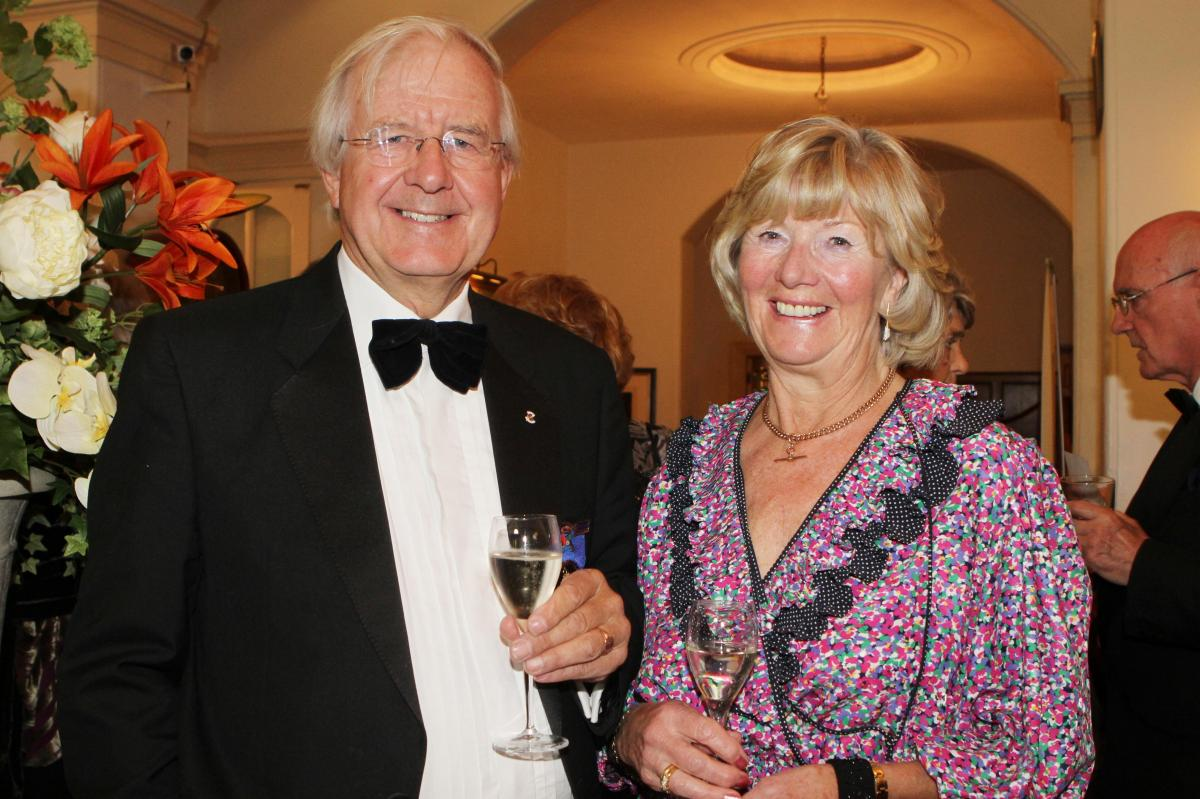 Cheltenham North Charter Anniversary Dinner 26th April 2012 - David and Thelma Rees