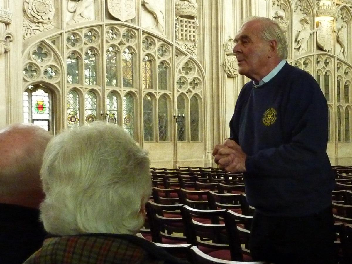 Oct 2018 Visit from Rotary Club Enschede Nord to Cambridge - .