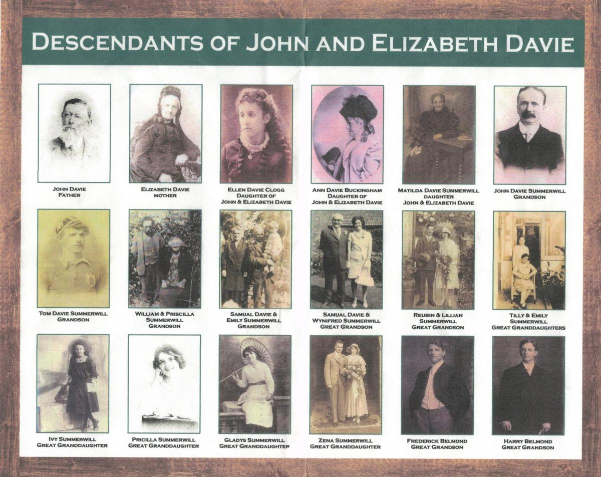 St Nicholas Chapel  - Davie family descendents