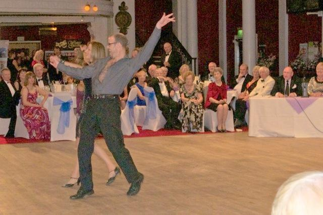 Strictly Come Rotary Dance Competition - Dean and Sally Martin dancing the Cha-Cha-Cha