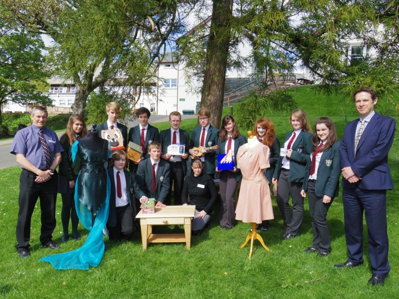 ABOUT Rotary Keswick - The winners of the Design Technology Competition from Keswick School
