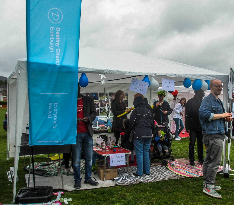 Penicuik in the Park on 25th May 2019 - Destiny Church