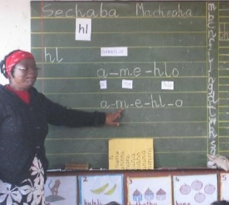 Our Work in South Africa - Developing sounds