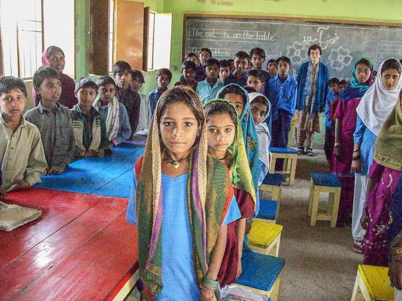 Dhiki School, Sindh province, Pakistan - The new Dhiki School April 2015