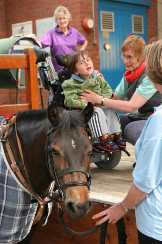 Recent Donations to Local Charities - A very special place for disabled riders