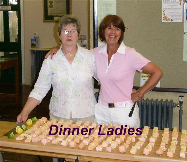 Wells Boules Tournament 2008 -  Dinner Ladies