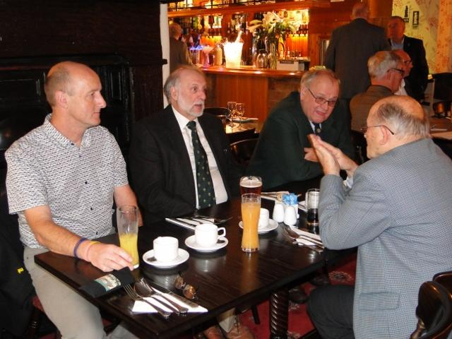 Disbursements Lunch - Members and guests from RNLI and Oldham Scouts