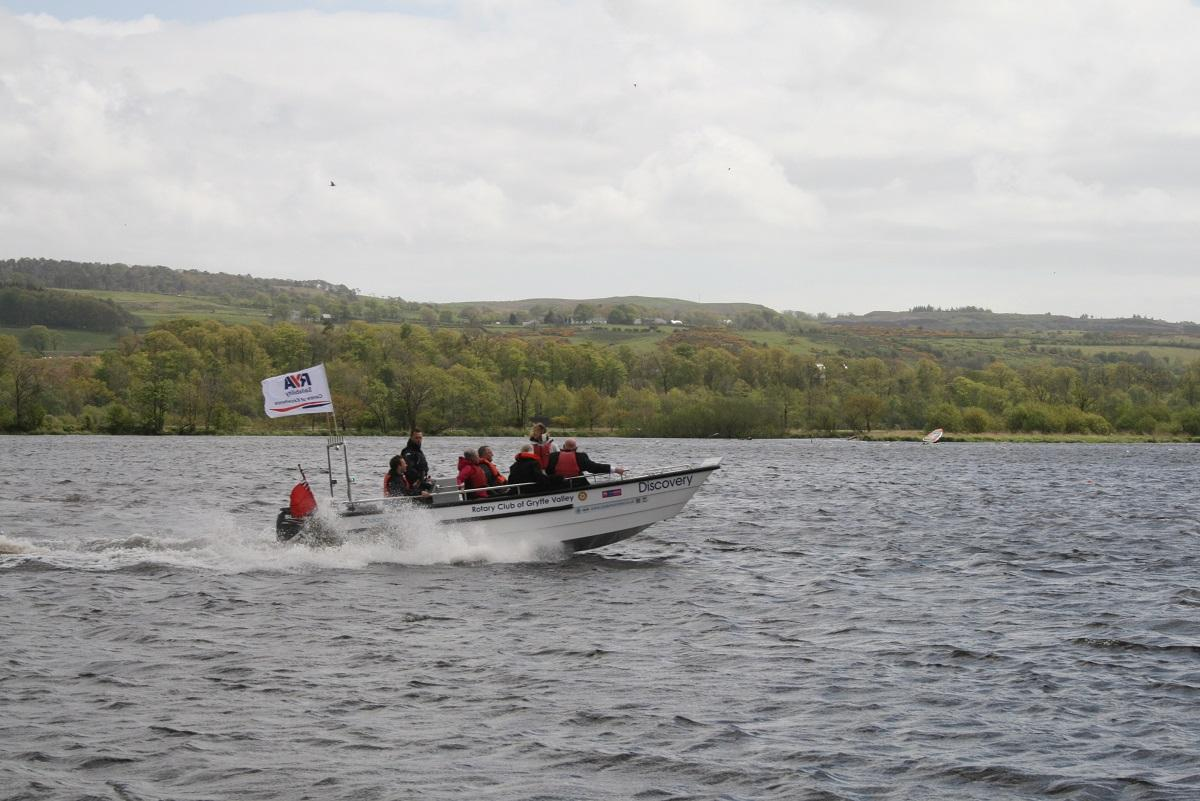 Wheelchairs on Water - the Wheelyboat project - Discovery at speed!