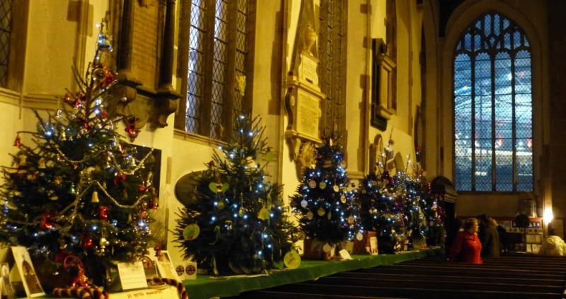 Norwich Christmas Tree Festival - Dec 2014 - Display 1