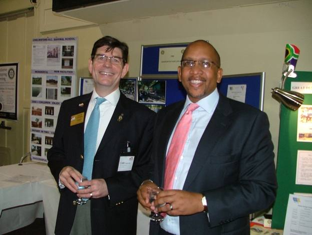 1240 Cambridge Conference 2008 - HRH Prince Seeiso Bereng Seeiso and Colin Freeman