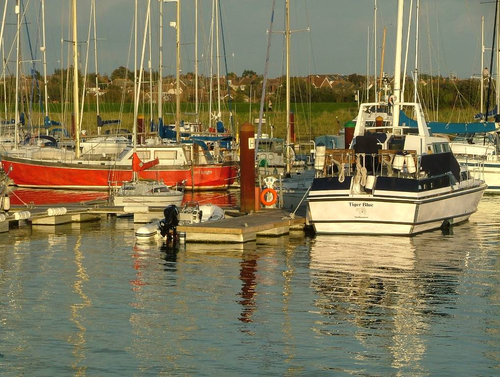 Around our District - Money Floats at Burnham Yacht Harbour