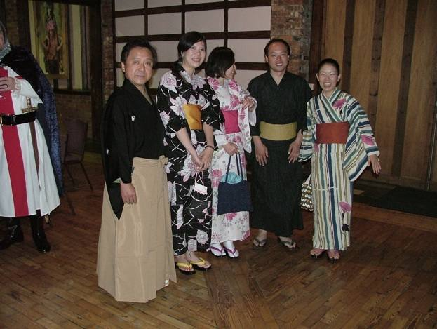 1240 Cambridge Conference 2008 - Japanese GSE Team in traditional dress