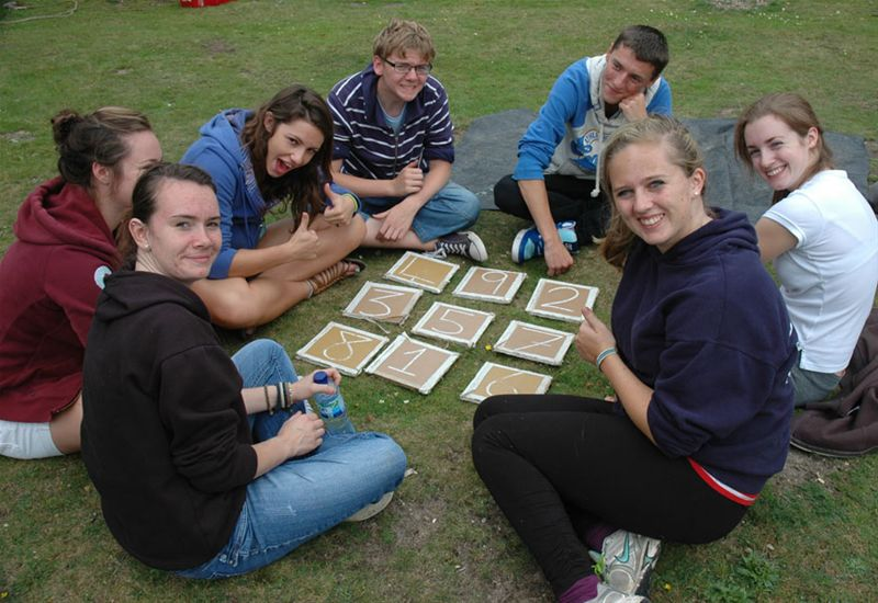 RYLA Courses Summer 2011 - A Rotarian led problem solving exercise on the August RYLA course organised by Rotary Wessex