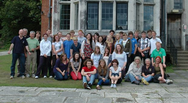 RYLA Courses Summer 2011 - Caroline Millman the District Governor joins participants on the July RYLA course organised by Rotary Wessex