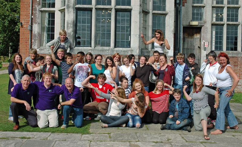 RYLA Courses Summer 2011 - The participants on the August RYLA course organised by Rotary Wessex