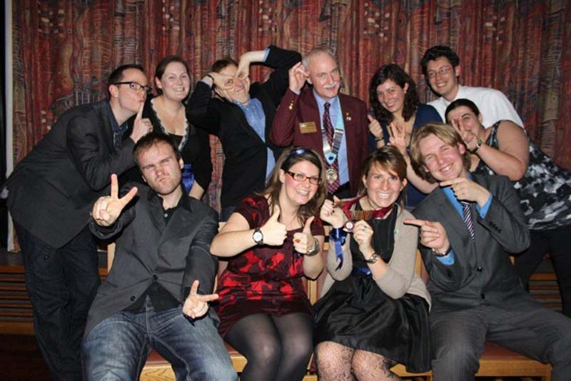 Oxford Rotaract Club receives its Charter - the fun begins....