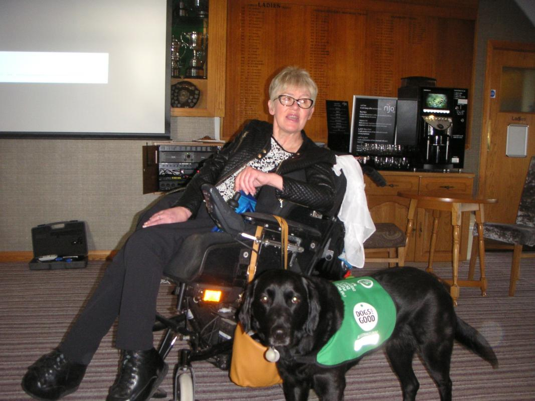 Dogs for Good Speaker followed by Dinner - Host Gordon Turner -