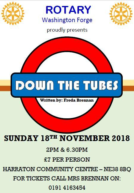 'Down The Tubes' -