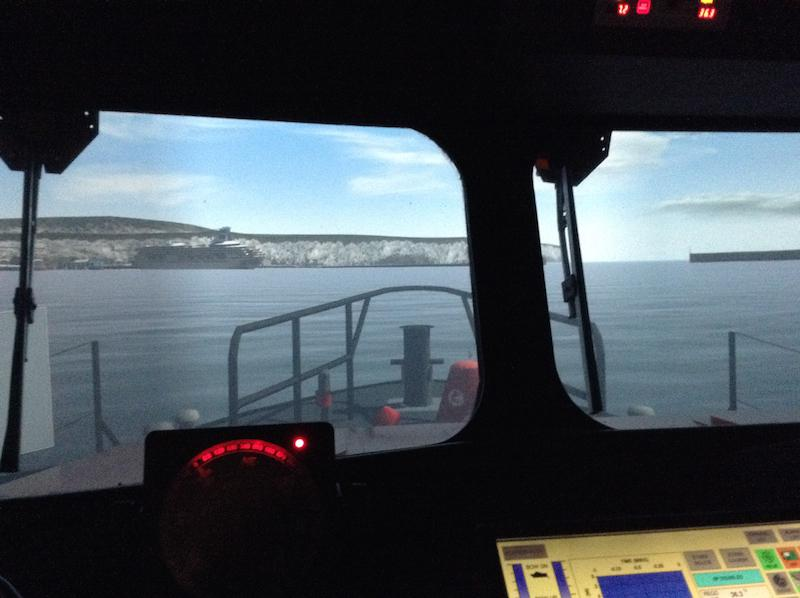 Presidents Weekend at RNLI Poole 3 - 5 October - Driving the lifeboat
