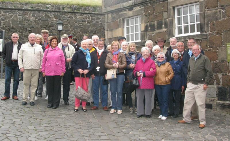 Club Photo Gallery pre July 2015 - Arbroath's twinned Club Dreux from France visited Arbroath in June 2015, Stirling Castle was on their itinerary.