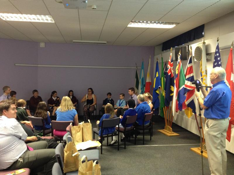 District Rotakids Conference 2014, Lancaster - Drumming Session