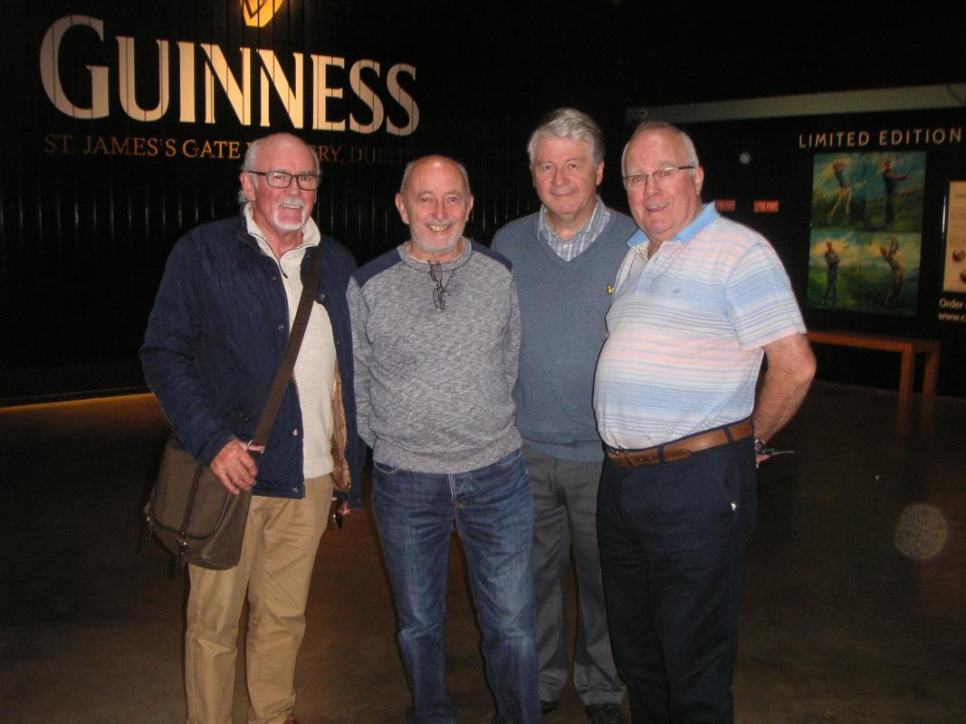 International Trip to Dublin 2017 - The Guiness brewery