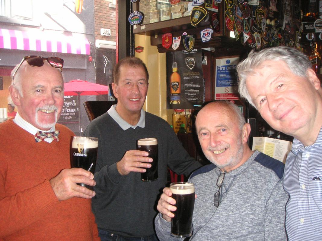 International Trip to Dublin 2017 - A quick pint in Temple Bar