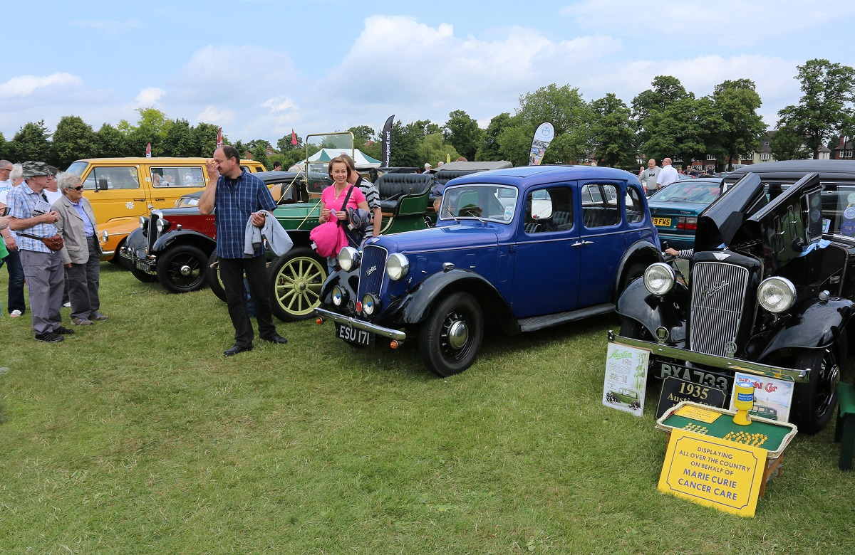 Doncaster Classic Car and Bike Show 2017 - Early Austin, Morris & Stanley Steamer