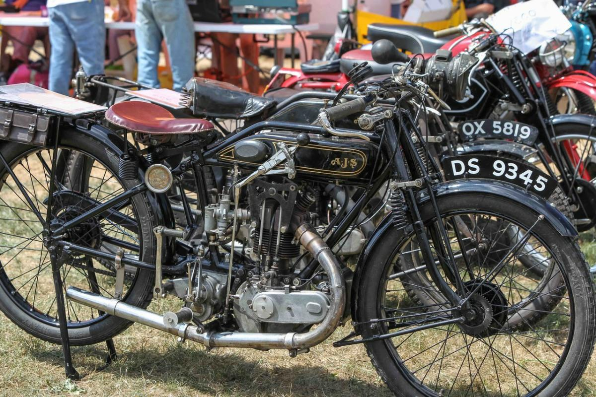The Best Ever. - Early motor cycles