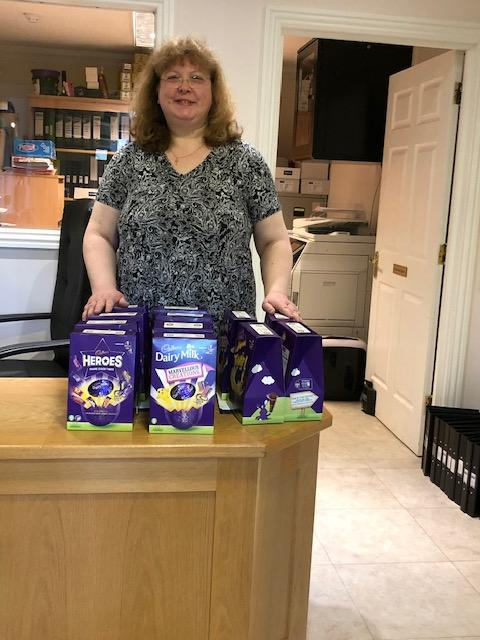 Easter Eggs for carers -